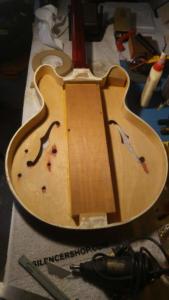 Hollow guitar